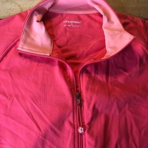 Tuff Athletics Jackets & Coats - Hot pink athletic jacket